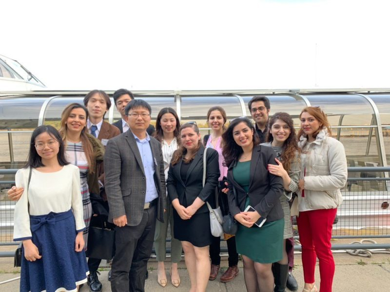 Group members attend GEE 2019