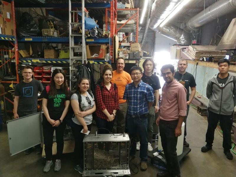 Group members visit SL Ross Environmental Research Ltd.