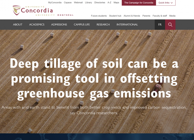 Qi's research is featured by Concordia University