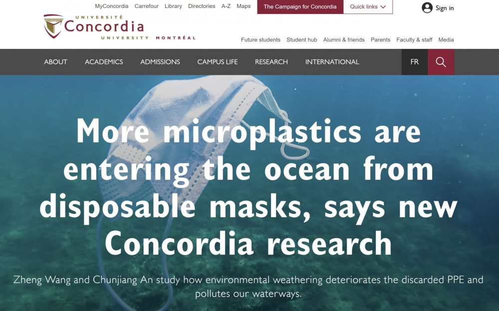 Zheng's research is featured by Concordia University